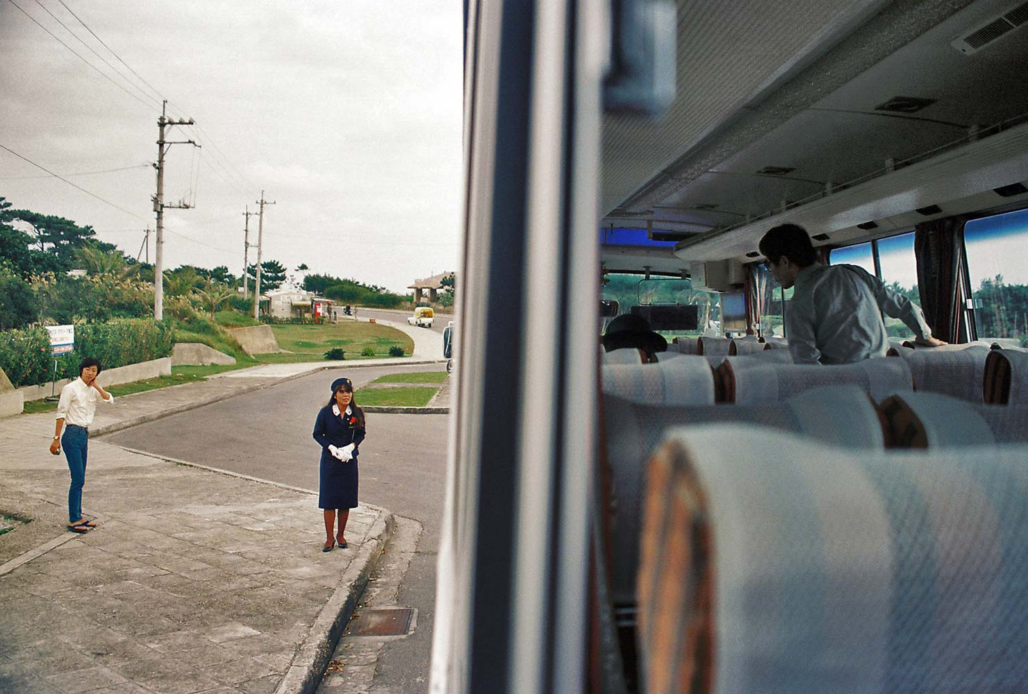 Tour bus, Okinawa