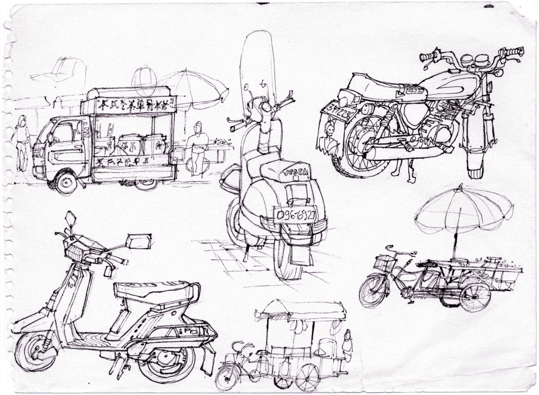 1986_Taiwan_bikes