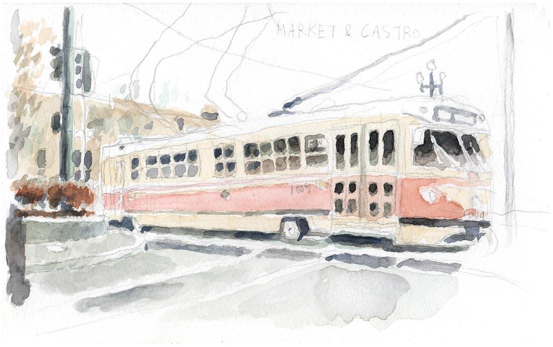 MarketCastro_streetcar