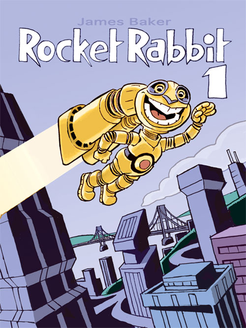ROCKET RABBIT issue #1 cover