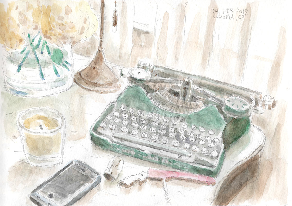 Sonoma sketches
