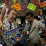 "JIMMY ""Easy Terms"" BAKERSFIELD and RODDY ""Deep Discount"" MONTECARLO working the CON."